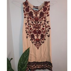 Pretty Short/floral Urban Outfitters Dress